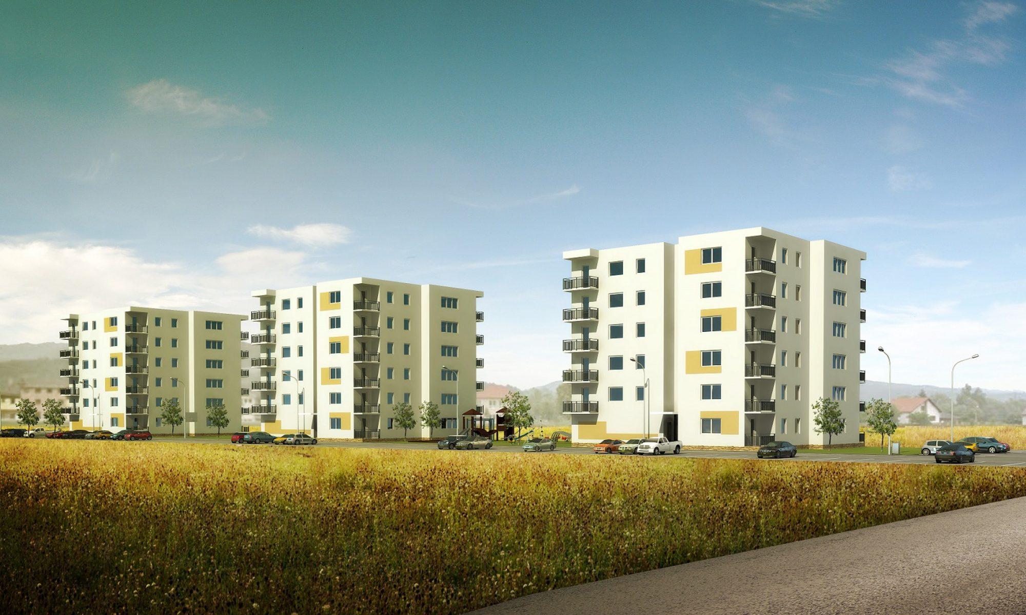 Bytové domy Maršová - Rašov